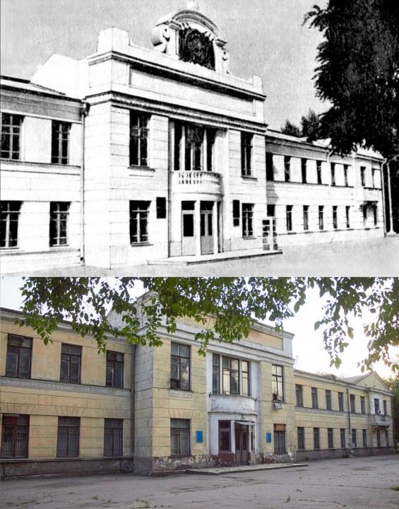Здание старого АНД райсовета.