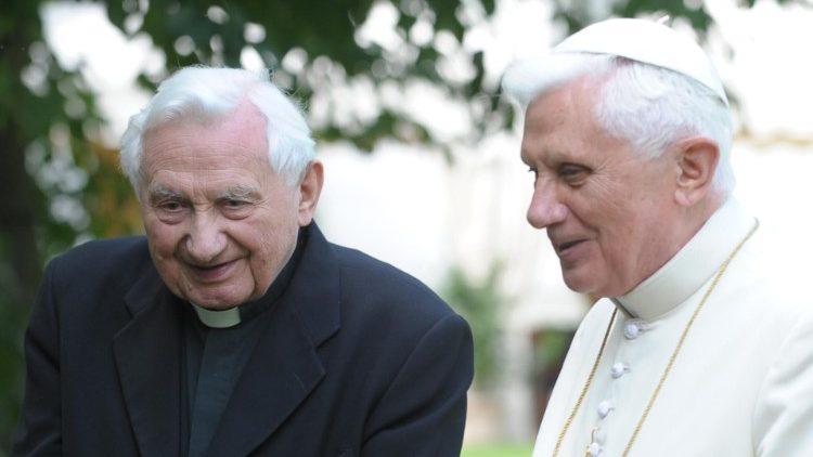 Умер брат Папы Римского Георг Ратцингер