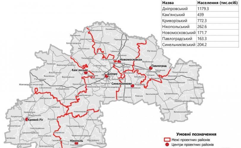 oblast rajony