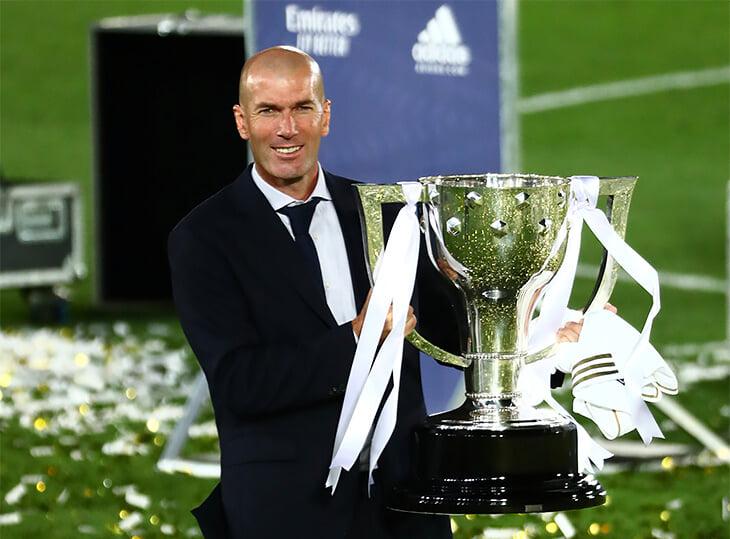 Реал выиграл Ла Лигу