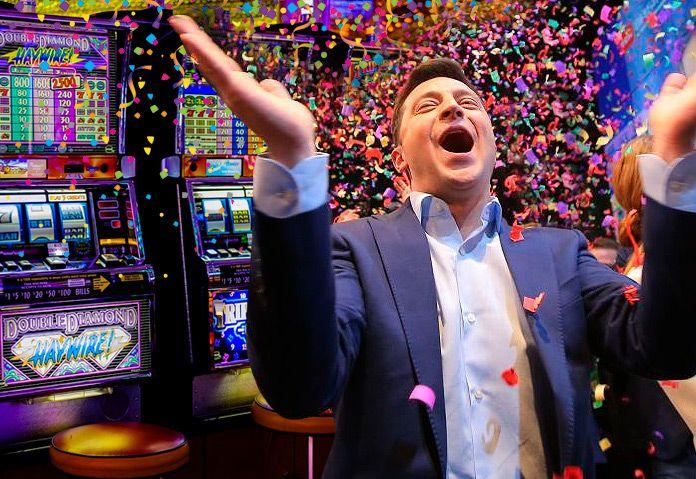 Зеленский подписал закон о легализации азартных игр