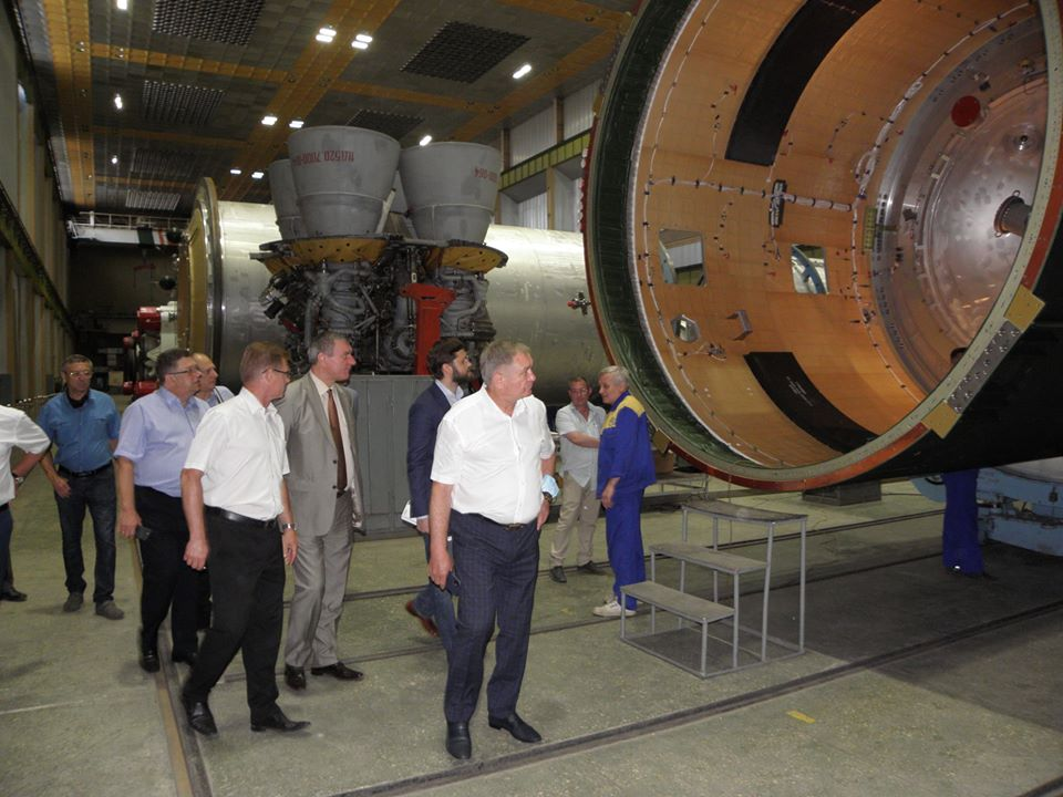 Чешский концерн инвестирует 50 млн евро в днепровский Южмаш
