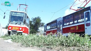На маршрут Каменского вышли 3 новых трамвая
