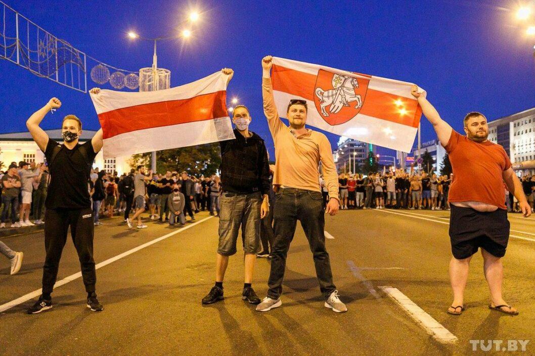 Выборы в Беларуси: Тихановская призвала прекратить протесты (ВИДЕО)