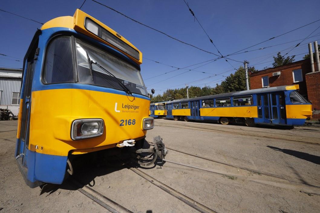 В Днепре на маршрут выйдут трамваи из Германии