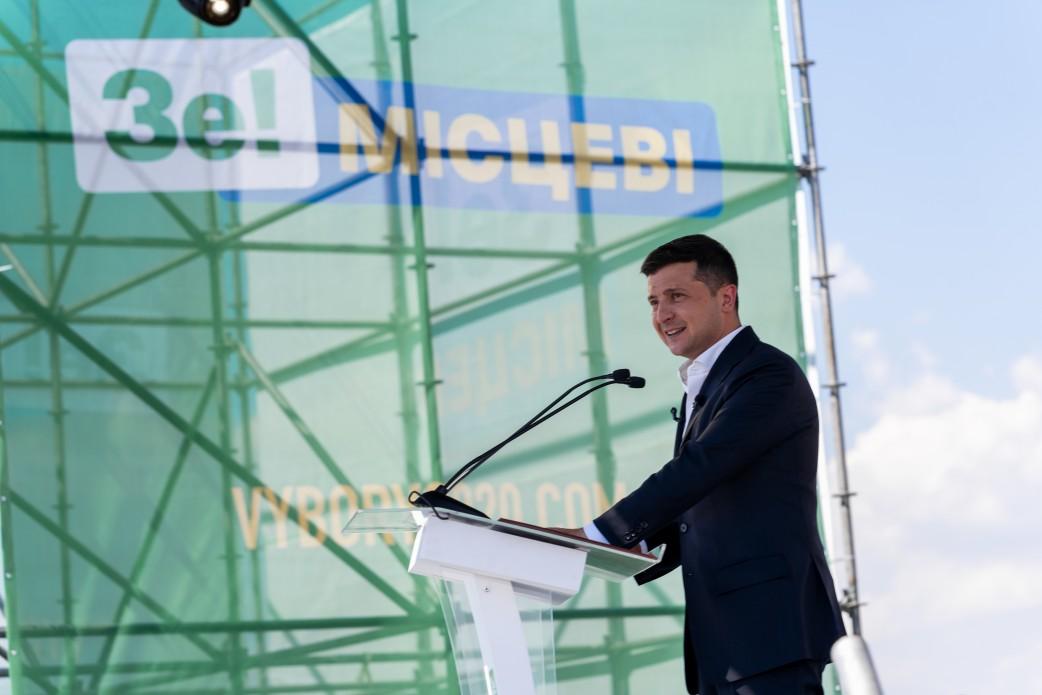 Комитет избирателей: Зеленский использует рабочие поездки для предвыборной агитации