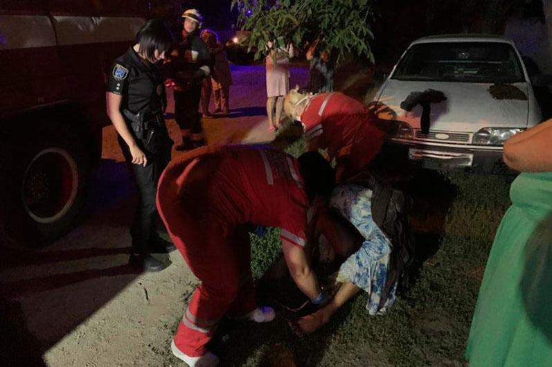 Попал в реанимацию: на левом берегу во время пожара пострадал мужчина