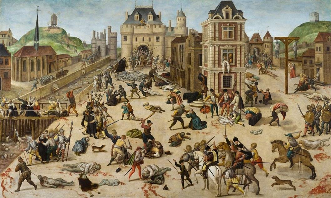 La masacre de San Bartolome por Francois Dubois