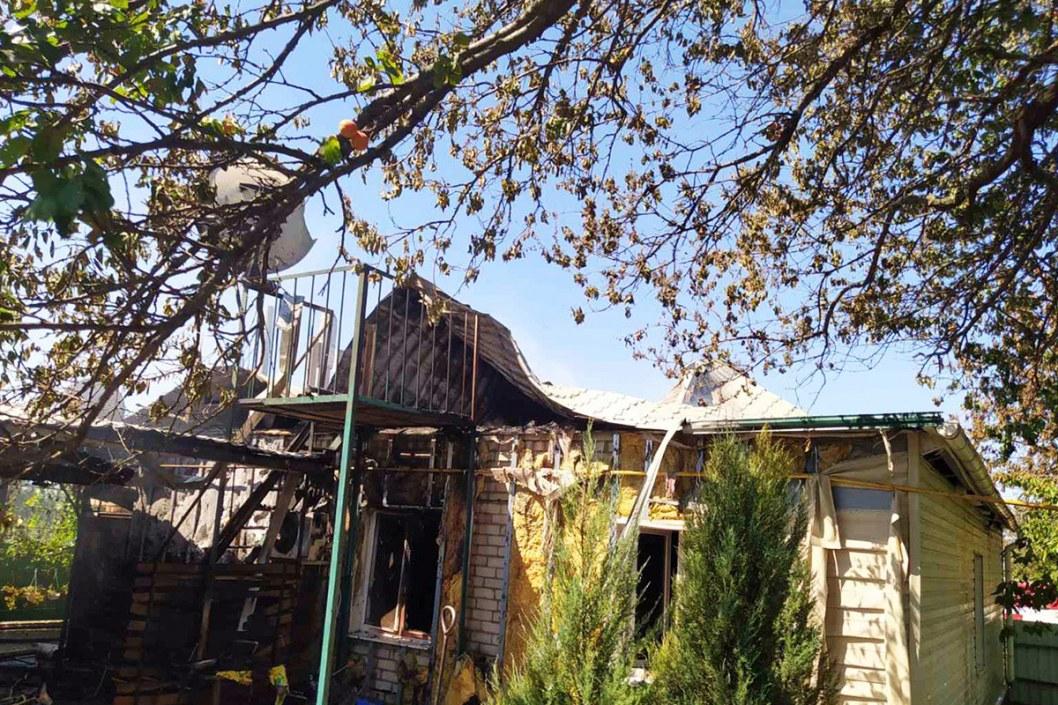 Пожар пгт Покровское