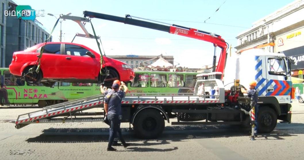 Какие штрафы за неправильную парковку действуют в Днепре