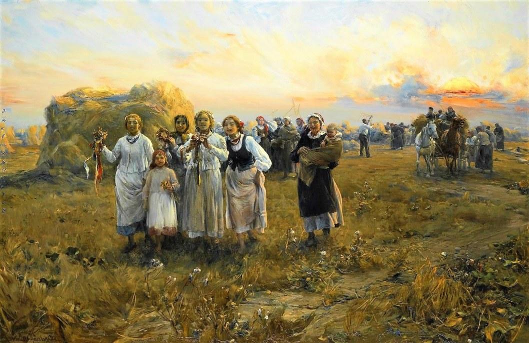 Wierusz Kowalski Doz ynki 1910