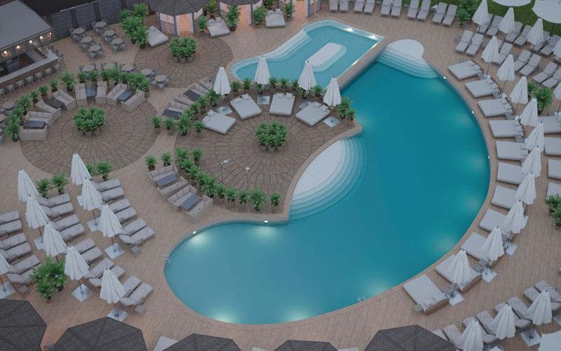Топ-7 бассейнов и пляжных клубов Днепра