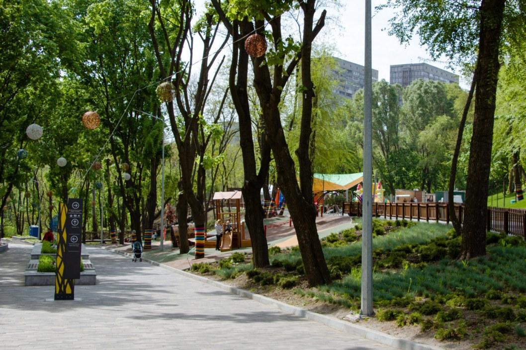 День города в Зеленом Гаю: как готовят парк к празднику