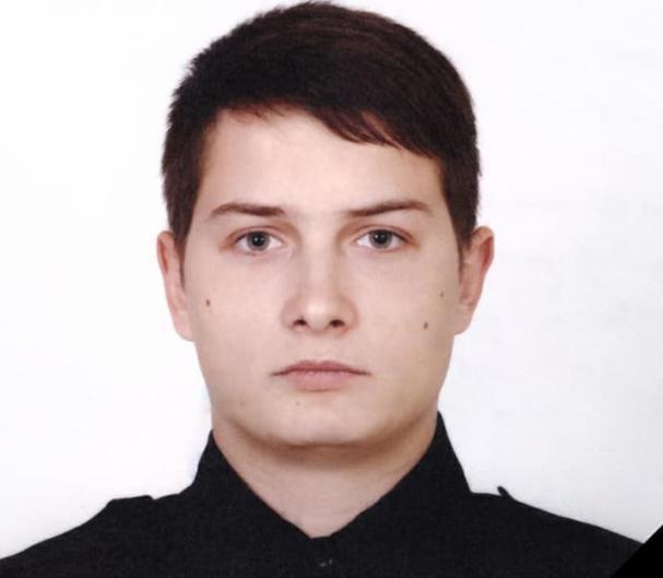 В Кривом Роге погиб 22-летний патрульный Роман Татарчук