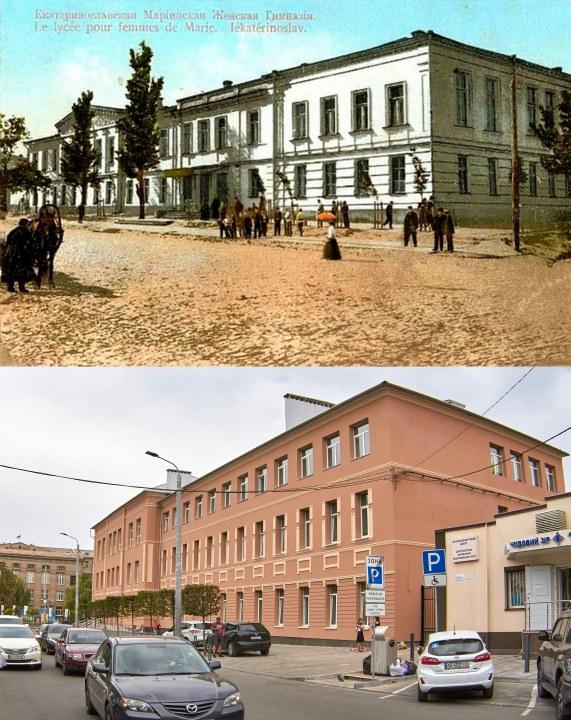 1865 MARIINSKAYA zhenskaya GIMNAZIYA sei chas SHkola 33 UL TROITSKAYA 1 1