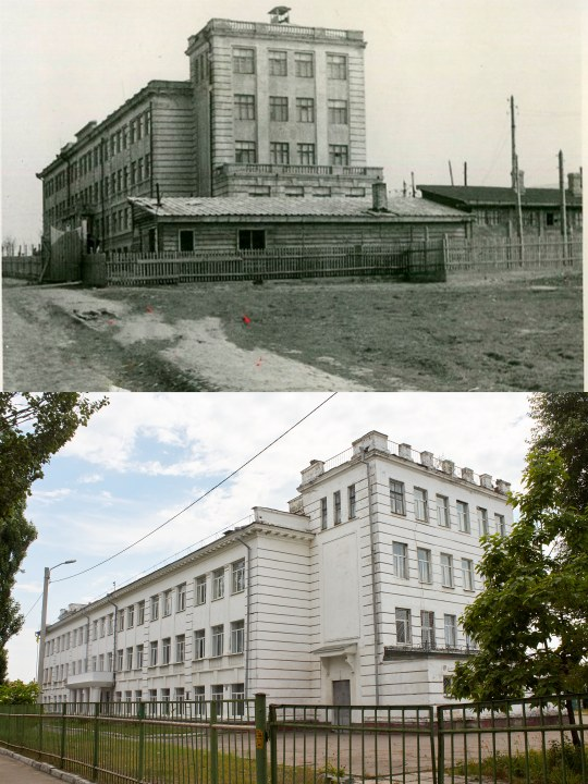 1940e okupatsiya Sei chas SHkola ul YAntarnaya 1