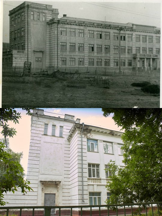 1940e okupatsiya Sei chas ul YAntarnaya SHkola 1