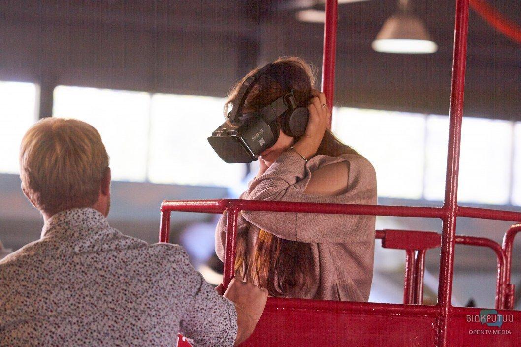 Виртуальная реальность: в Днепре восстановили канатную дорогу (ФОТО)