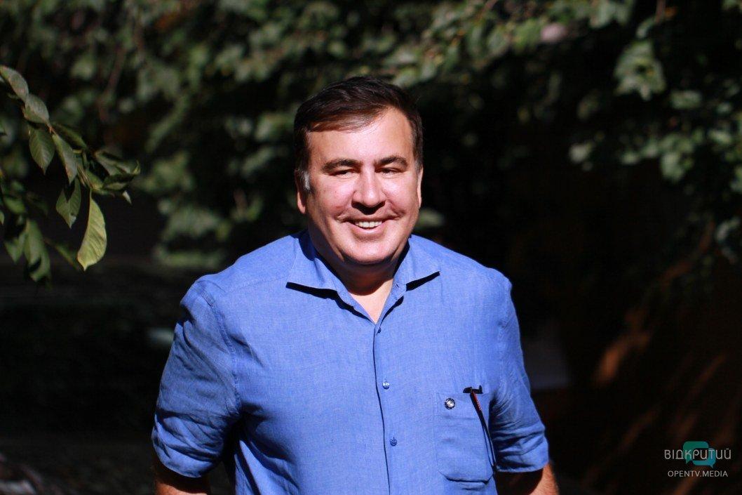 Саакашвили о жителях Днепра: вы должны управлять Украиной