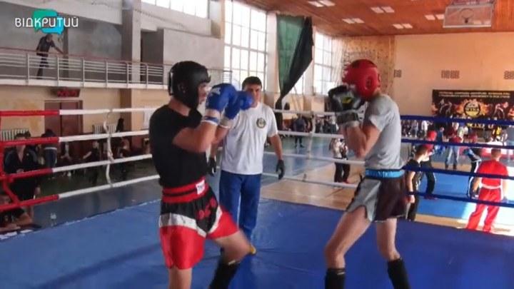 В Днепре прошли всеукраинские соревнования по кикбоксингу