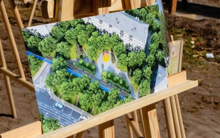 В Днепре презентовали проект новой зоны отдыха на проспекте Петра Калнышевского