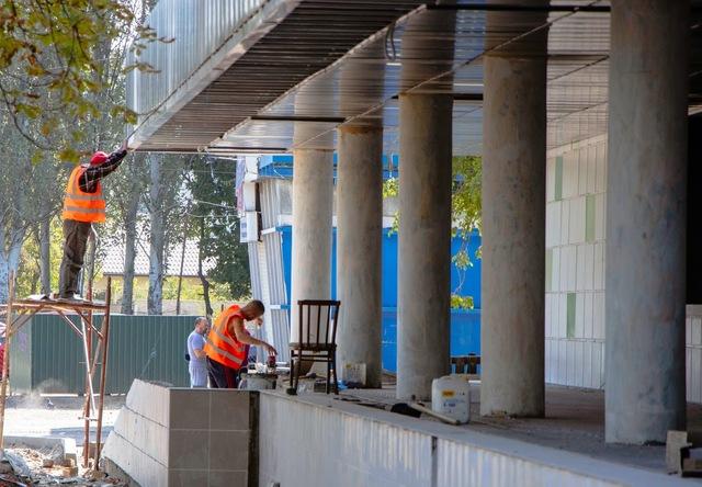 В Днепре продолжают капитальный ремонт медицинских учреждений