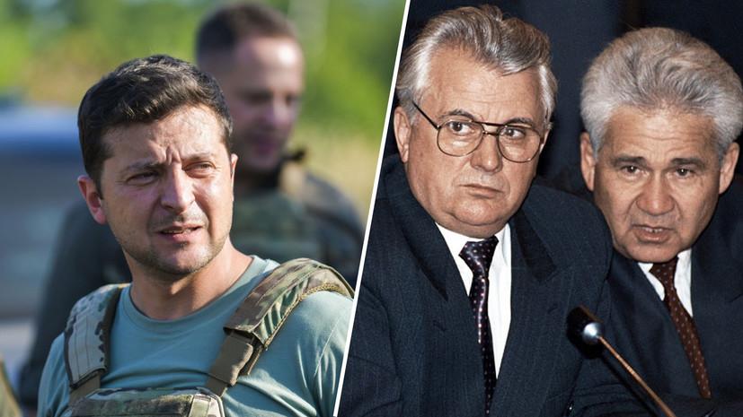 Зеленский отстранил экс-премьера Фокина от участия в ТКГ по Донбассу