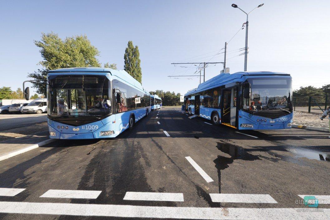 В Днепре на жилмассив Приднепровск пустили электробусы