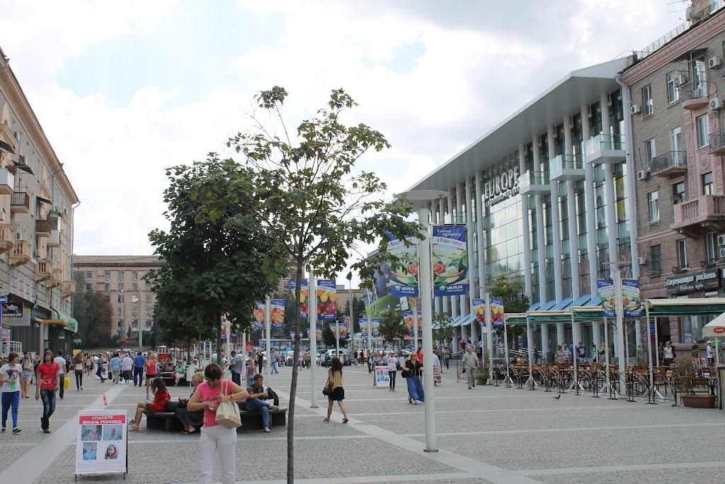 В убийстве днепрянина на Европейской площади подозревают иностранца (ВИДЕО)