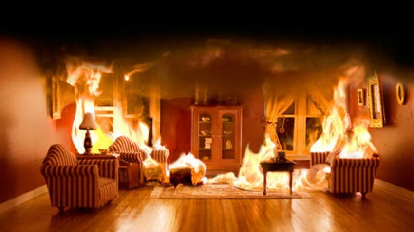 В Днепре загорелась квартира: пострадала женщина