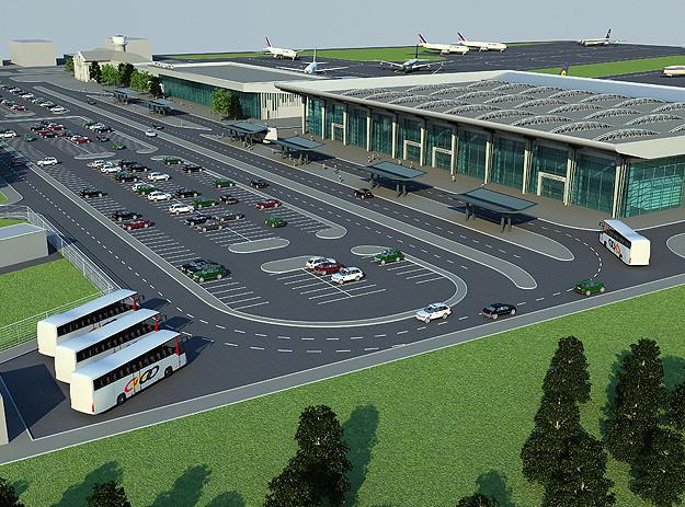 В аэропорту Днепра начинают подготовительные работы для строительства нового аэродрома