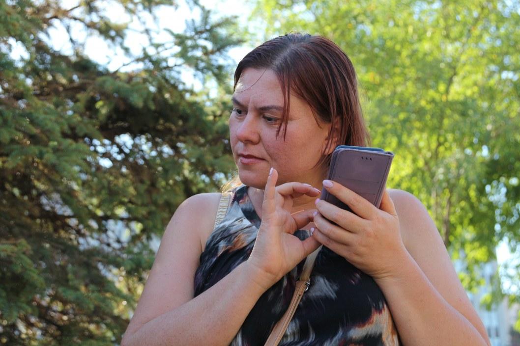 В Днепре презентовали мобильное приложение для людей с нарушениями зрения