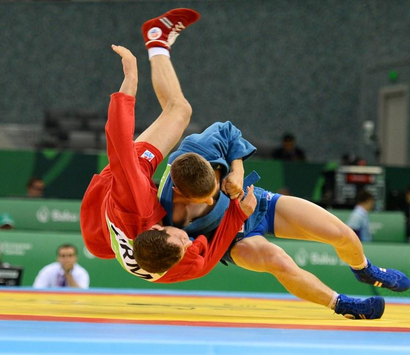 Самбисты Днепропетровщины завоевали золотые медали на чемпионате Украины
