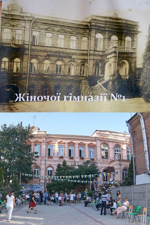 ZHenskaya gimnaziya do revolyutsii sei chas SSH 21