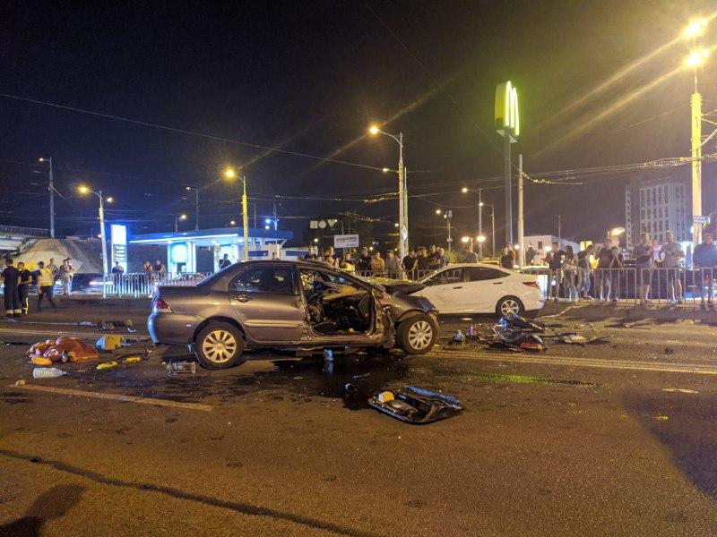 Смертельное ДТП: в Днепре произошла авария с участием 3 машин