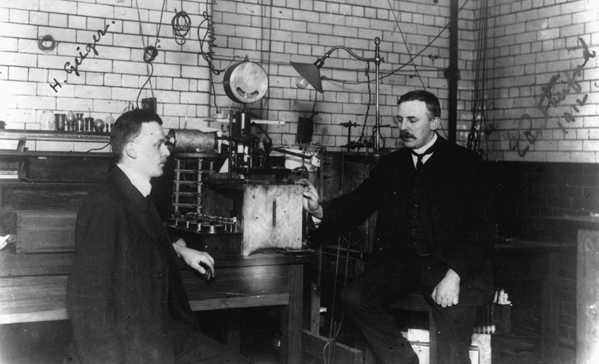 ernest rutherford and hans geiger 2