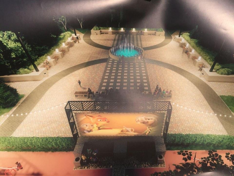 Фонтан и кинотеатр под открытым небом: в Днепре может появиться новый сквер