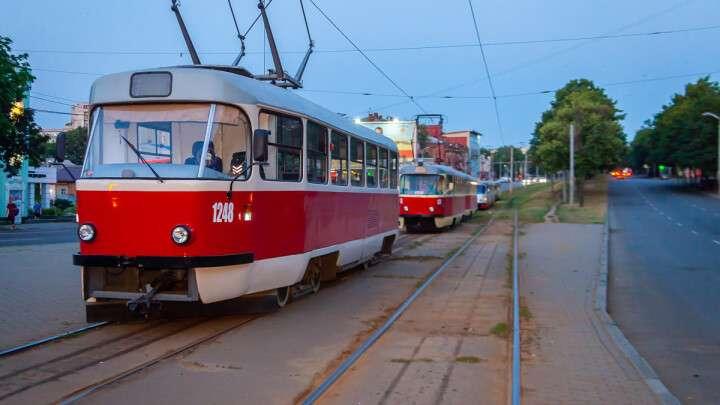 В Днепре изменится движение трамваев
