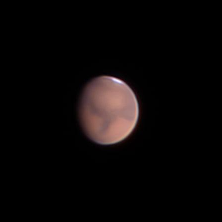Загадочная красная планета: астроном-любитель из Днепра сделал яркое фото Марса