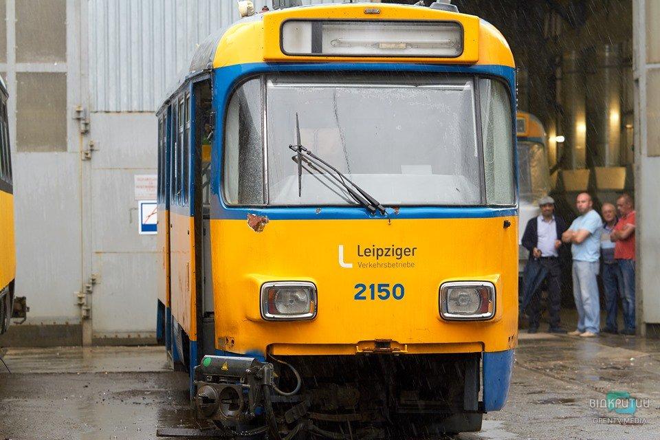 В Днепре первый трамвай изменит маршрут движения