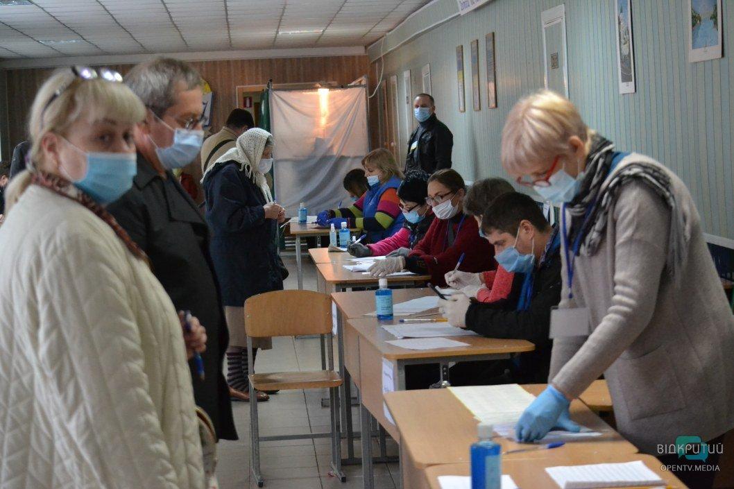 Повлиял ли первый тур выборов в Днепре на рост заболеваемости COVID-19