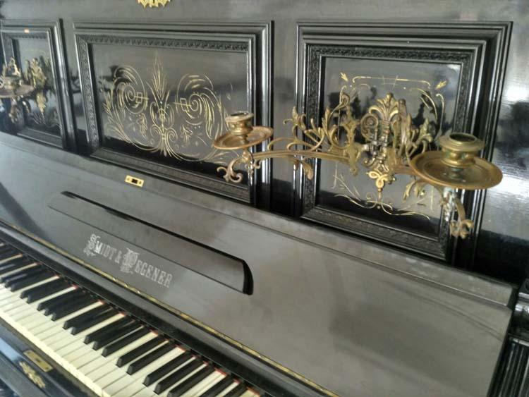Пианино в музее Днепра