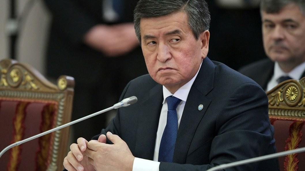 Президент Киргизии готов уйти в отставку после протестов оппозиции