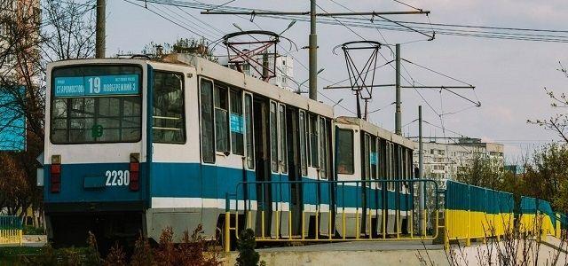 В Днепре трамваи перестанут ходить на Левобережный-3