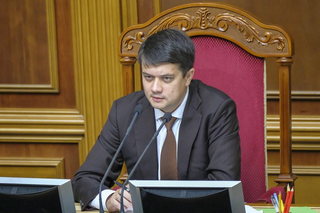 Возможно Верховная Рада примет законопроект о референдуме в ноябре, —Разумков