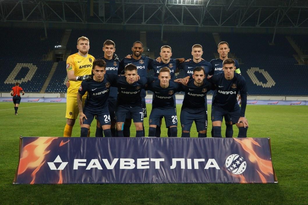 Йовичевич одержал первую победу в чемпионате на посту тренера СК «Днепр-1»