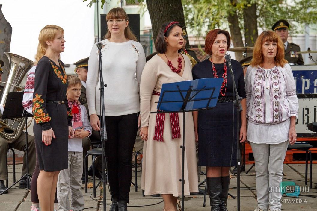 Ко Дню защитника Украины в Днепре представили новый альбом «Пісні народжені в АТО».