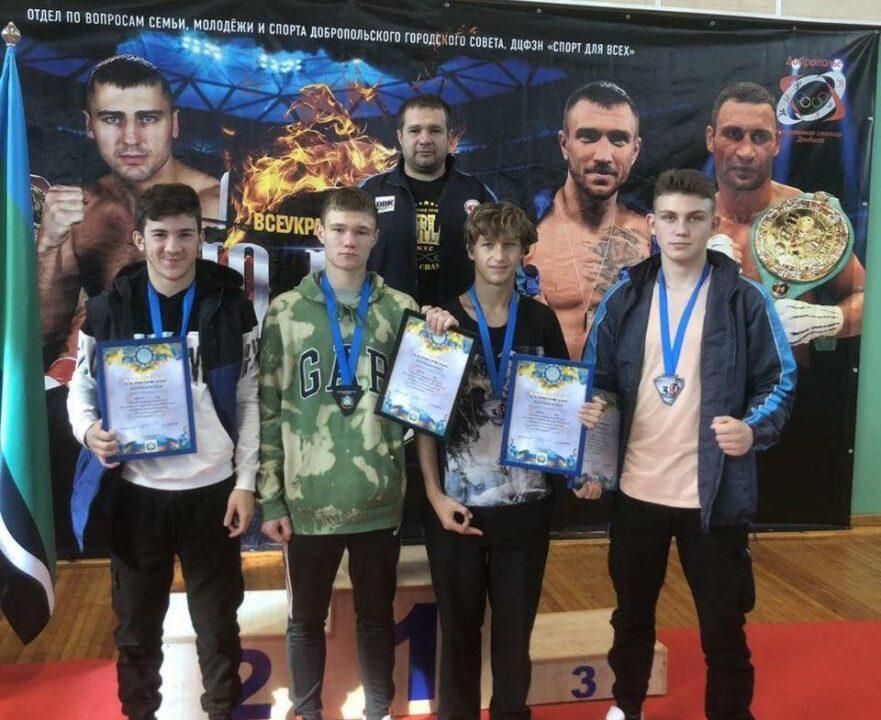 Днепровские боксеры завоевали медали на чемпионате Украины среди юниоров