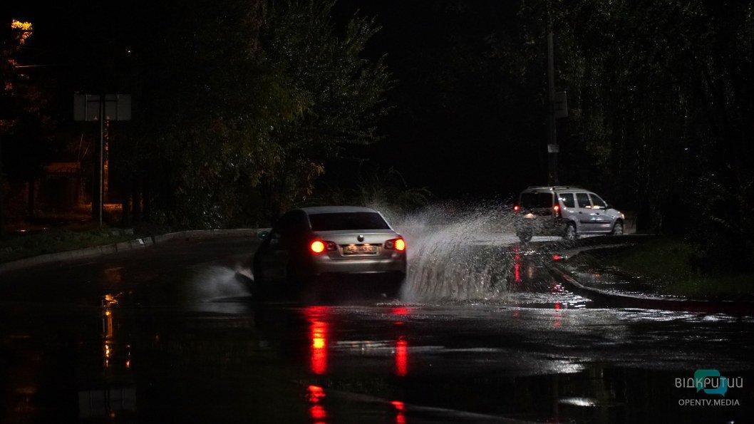 Днепр затопило: как выглядит город после сильного ливня (ФОТО)