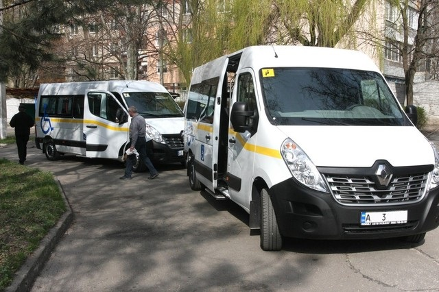 Для людей с инвалидностью в Днепре приобрели еще одно социальное такси